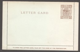 SHANGHAI Local Post  1 Cent Letter Card Unused  Superb. - China