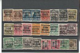 50167 ) Collection Precancel - United States