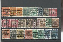 50173 ) Collection Precancel - United States