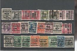 50174 ) Collection Precancel - United States