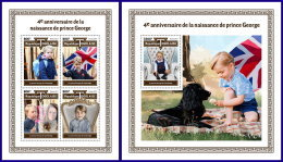 TOGO 2017 MNH** 4th Birthday Prince George M/S+S/S - OFFICIAL ISSUE - DH1801 - Königshäuser, Adel
