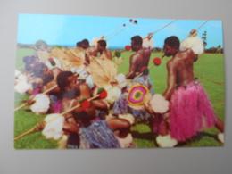 FIDJI FIJIAN MEKE WESI SPEAR DANCE - Fidji