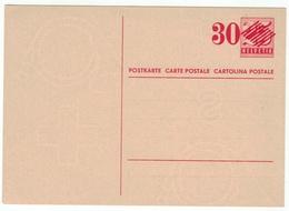 Suisse // Schweiz // Switzerland // Entiers Postaux // Entier Postal Neuf - Stamped Stationery