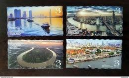 Thailand Stamp 2017 Chao Phraya River - Tailandia
