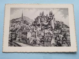 Vue Générale De La Ville Et Du Château ( Géoluc 147 ) Anno 1960 ( Zie Foto's ) ! - La-Roche-en-Ardenne