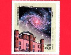 Nuovo - MNH - ITALIA - 2012 - Osservatori Astronomici - 0,60 - Osservatorio Astronomico Di Brera - 6. 1946-.. Repubblica