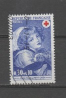 FRANCE / 1971 / Y&T N° 1700 : Croix-Rouge (jeune Fille Au Chien) - Usuel - France