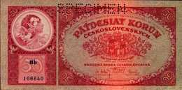 TCHECOSLOVAQUIE 50 KORUN Du 1-10-1929  Pick 22s  UNC/NEUF - Czechoslovakia