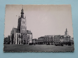 Grote Markt - Grand Place ( Cluts François ) Anno 19?? ( Zie Foto Voor Details ) !! - Tienen