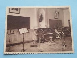 Pensionnat Du Sacré-Coeur - Salle De Musique ( Thill ) Anno 19?? ( Zie Foto Voor Details ) !! - Frameries