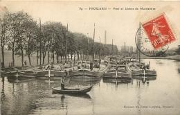 FROUARD PORT ET USINES DE MONTATAIRE - Frouard
