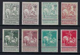 Nrs. 92 T/e/m 99 ** MNH En * MH ; Zie 3 Scans ! Verkoop  Aan 85 Euro ! - 1910-1911 Caritas