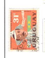 Uruguay PA 1959 Santos Dumont   Scott.C193 Used See Scans On Scott.Page - Uruguay
