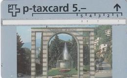 11493-TAXCARD-CAMPIONE D'ITALIA-USATA - Svizzera