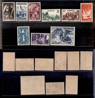 2448 MONACO - 1944 – Santa Devota (unif.265/273) – Serie Completa Di 9 Valori – Gomma Integra (25) - Francobolli
