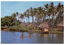 (QLD 358) Fiji - Tatched Village - Fidji