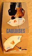POCHETTE D'ALLUMETTES GAULOISES CIGARETTES CASE POSTALE 179 1800 VEVEY 2 - Matchboxes