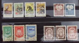 Chine 033, 1957 Lot 12 Timbres - 1949 - ... République Populaire