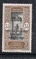 TOGO N°93 N* - Unused Stamps