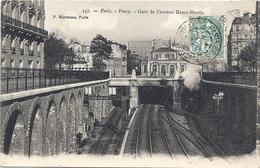 75 PARIS - 16ème, Passy, Gare De L'avenue Henri-Martin, Pionnière - Arrondissement: 16