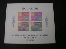 Ecuador Block 1965 - Ecuador