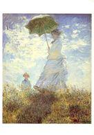 Claude Monet - La Promenade - La Femme à L'Ombrelle - 1875 - Ecrite, Timbrée - 5282 - Pintura & Cuadros