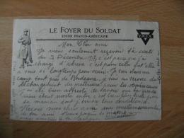 Guerre 14.18 Lettre Pour Suisse  Le Foyer Du Soldat Union Franco Americaine - Marcophilie (Lettres)
