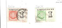 Uruguay PA 1965 Mostra Fil.Rio De La Plata  Scott.C271g + H +Used See Scans On Scott.Page - Uruguay