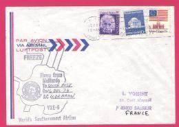 Document 028, Antarctique USA Enveloppe 1976 Mc Murdo  VXE - 6 - Timbres