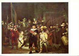 Rembrandt - Die Nachtwoche - Ecrite, Timbrée - 5285 - Peintures & Tableaux