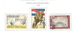 Uruguay PA 1965 Gen.Artigas Mon. Scott.C273+275+Used See Scans On Scott.Page - Uruguay