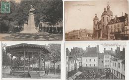 18 / 3 / 171  -  LOT  DE 15  CPA  DE  CHALON  SUR  SAÔNE  ( 71 Toutes Scanées - Cartes Postales