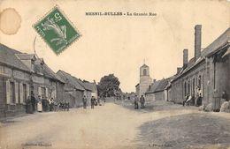 CPA 60 MESNIL BULLES LA GRANDE RUE - France
