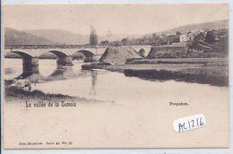 POUPEHAN- LA VALLEE DE LA SEMOIS- NELS SERIE 40 N° 27 - Bouillon
