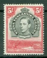 K.U.T.: 1938/54   KGVI    SG148a    5/-   [Perf: 14]      MH - Kenya, Uganda & Tanganyika