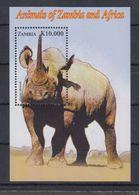 A65. MNH Zambia Nature Animals Wild Animals Rhinoceros - Rhinozerosse