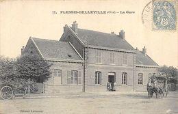 CPA 60 PLESSIS BELLEVILLE LA GARE - Francia