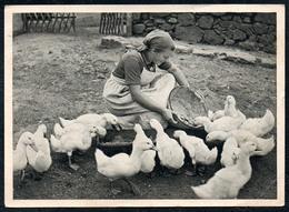 B1940 - Hans Retzlaff - RAD - Reichsarbeitsdienst Für Die Weibliche Jugend - E.A. Seemann - Gel 1944 - Ansichtskarten