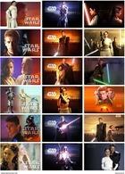 18 Postcards Of  Star Wars II Movie  Moive Film, Postkarte Carte Postale - Affiches Sur Carte