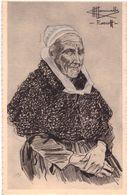 Types Et Costumes De France Roscoff Illustrateur Charles Homualk - France