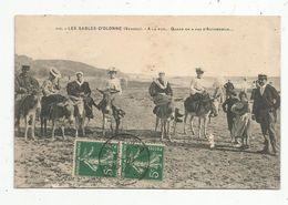 Cp, 85 , LES SABLES D'OLONNE , à La Mer... Quand On A Pas D'automobile... , Voyagée 1912 - Sables D'Olonne