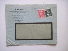 19..  MAPAC Manufacture Parisienne De Chaussures  St-DENIS (Seine) - Marcofilia (sobres)