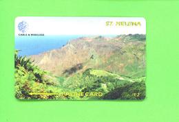 ST HELENA - Magnetic Phonecard/Sandy Bay (mint/Unused - St. Helena Island