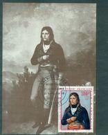 POLYNESIE PA 31 NAPOLEON Carte Maximum 1969 (le Tp Cote : 77 €) Rare Et TB. - Cartes-maximum
