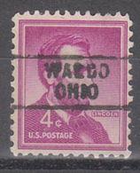 USA Precancel Vorausentwertung Preo, Locals Ohio, Waldo 729 - Vereinigte Staaten