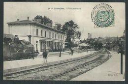Gard. ; Sommieres La Gare Intérieure - Sommières