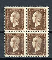 FRANCE -  M. DE DULAC  - N° Yvert  692**  Bloc De 4 - 1944-45 Marianna Di Dulac