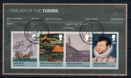 GB 2009 Mini Sheet Celebrating Kings And Queens 2nd Issue Fine Used Condition. - Blocks & Miniature Sheets