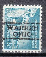 USA Precancel Vorausentwertung Preo, Locals Ohio, Warren 728 - United States