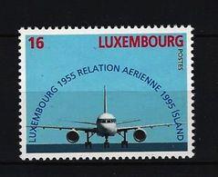 LUXEMBURG - Mi-Nr. 1374 - 40 Jahre Flugverbindung Zwischen Island Und Luxemburg Postfrisch - Ungebraucht